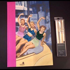 Cynthia Rowley Pen Set +Vintage Inspired Journal